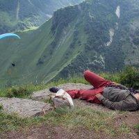 Сраженная наповал красотой гор :: skijumper Иванов