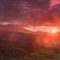 Огненный рассвет :: Денис Будьков