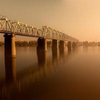 Киевский Петровский железнодорожный мост :: Anna Drobyazko