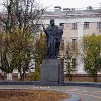 Памятник белорусскому просветителю Кириле Туровскому    (Гомель) :: Геннадий Титоренко