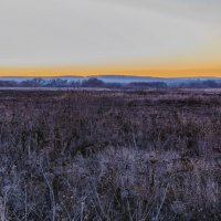 Закат на поле.. :: Юрий Стародубцев