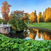 Мост через Славянку :: Юлия Батурина