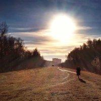 В догонялки с солнцем :: Сергей Малашкин