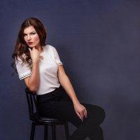 портрет в домашней студии :: Валентина Ткачёва