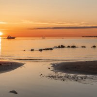 Вечерняя движуха на заливе :: Владимир Колесников