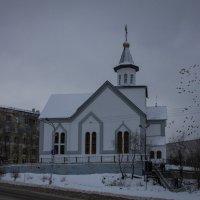 Церковь Владимира равноапостольного в Мурманске :: Светлана marokkanka