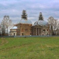 Усадьба Чернышевых.Казанская церковь :: ninell nikitina