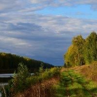 Осень по берегам реки... :: Ольга Русанова (olg-rusanowa2010)