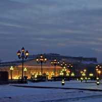 Москва. На Манежной площади :: Татьяна Ларионова