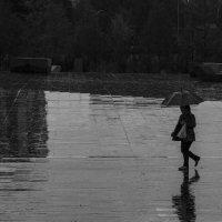 под дождём :: Сергей Дабаев