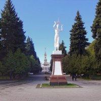 2.парк у Северного речного вокзала Москвы :: Николай Мартынов