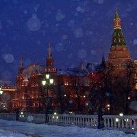 Снегопад в Москве :: Татьяна Ларионова