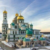 Припорошило снегом. Новоиерусалимский монастырь :: jenia77 Миронюк Женя