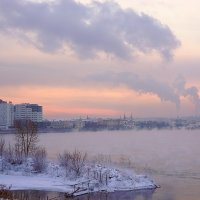 Похолодало в Иркутске :: Nikolay Svetin