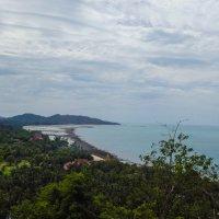 Колорит острова Самуи. Отлив на пляже Hua Thanon. :: Лариса (Phinikia) Двойникова