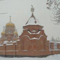 """""""Снег идет, снег идет, снег идет, и все в смятеньи..."""" Б. Пастернак. :: Elena Izotova"""