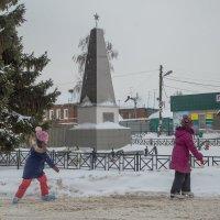 Зима в селе :: Александра