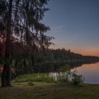 Тихий летний вечер :: Вячеслав Побединский