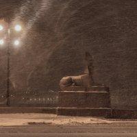 Ночь,улица,фонарь. :: vlad. alferow