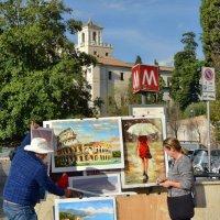 На Piazza di Spagna :: Olcen Len