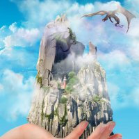 Этот мир, придуманный мною... :: Людмила (Руца)