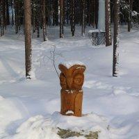 В снежной шапочке :: Ольга