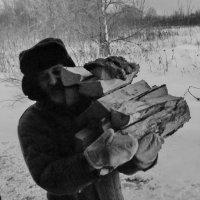 Ща печку топить будем! :: Светлана Рябова-Шатунова