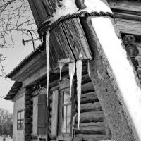 Столбы тоже плачут... :: Светлана Рябова-Шатунова