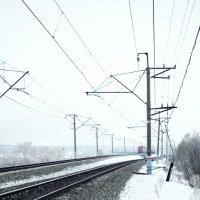 Один говоpил: Hаша жизнь - это поезд, Дpyгой говоpил: Пеppон. :: A. SMIRNOV