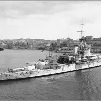 "HMS battleship ""Warspite"" entering the Grand Harbour of Valletta Malta. :: Александр"