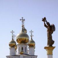 Ангел-хранитель города Абакана :: Павел Бабанов