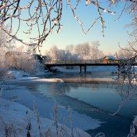 Зимняя речка :: Нэля Лысенко
