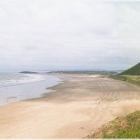 Пляж Llangennith Sands. :: aWa