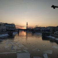 Закат на набережной. :: Сергей Александрович