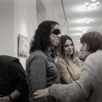 Фотограф Диего Бланко на открытии выставки. Капелла, Санкт-Петербург :: Александр Русинов