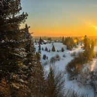 В сто сорок солнц закат пылал... :: Владимир Деньгуб