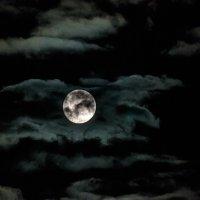 Полная Луна Сентябрь 2018 :: Анатолий Клепешнёв