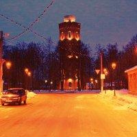 Водонапорная башня Зарайска :: ninell nikitina