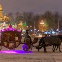 Новогодние городские сказки :: Людмила Волдыкова