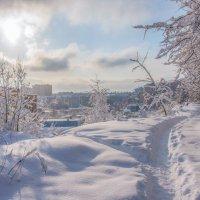А за городом - зима, зима... :: Владимир Безбородов