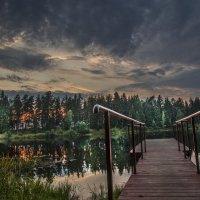 Краски летнего заката :: Вячеслав Побединский