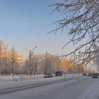 Морозное утро улицы Кунавина. 25 декабря 2018 года. :: Михаил Полыгалов