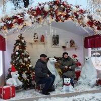 Фото на память на Пушкинской площади. :: Татьяна Помогалова
