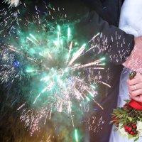 свадьба,салют :: Татьяна Захарова