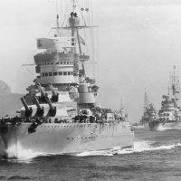 """Italian battleship """"Cavour"""", """"Giulio Cesare"""", 11.07.1940. :: Александр"""