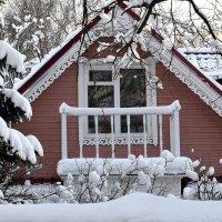Зима украшает дома к Новому году! :: Татьяна Помогалова