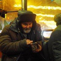 В трамвае. :: Ильсияр Шакирова