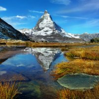 как зеркало озерная вода :: Elena Wymann