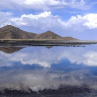 зеркальная поверхность солончака Уюни :: Георгий А