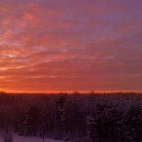 новогодний закат :: Владимир